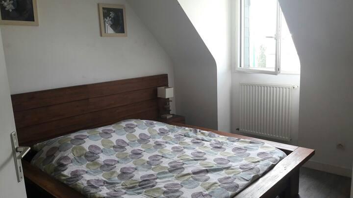Chambre double à 10 min de St Malo