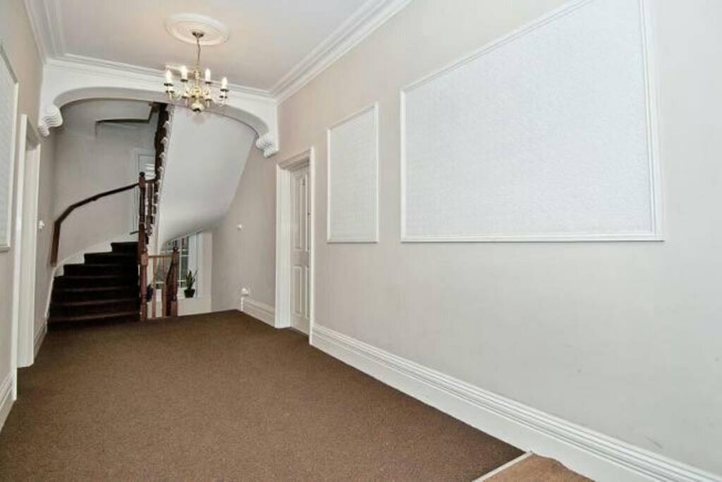 Entrance hall. Head upstairs