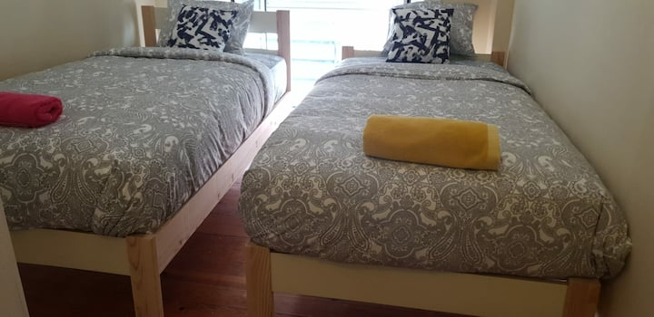 Fortune guest house( Towin Room with Balcony)