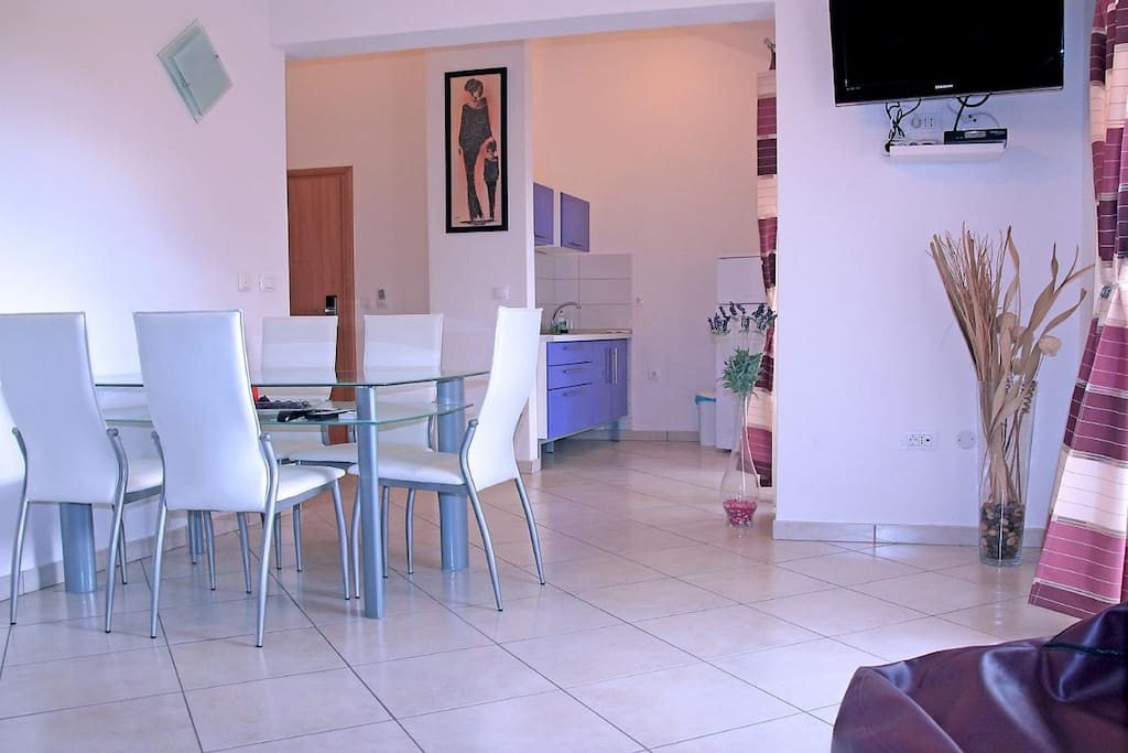 Dining room, Surface: 17 m²