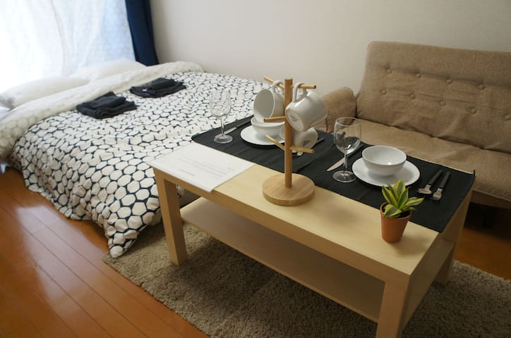 Walking distance from Tokyo station - Chūō-ku - Appartement