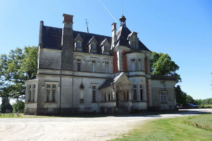 "Château de la Redortière - Bedroom ""Madame"""