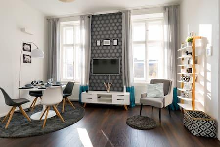Luxury 1-bedroom with park view - Budapeşte