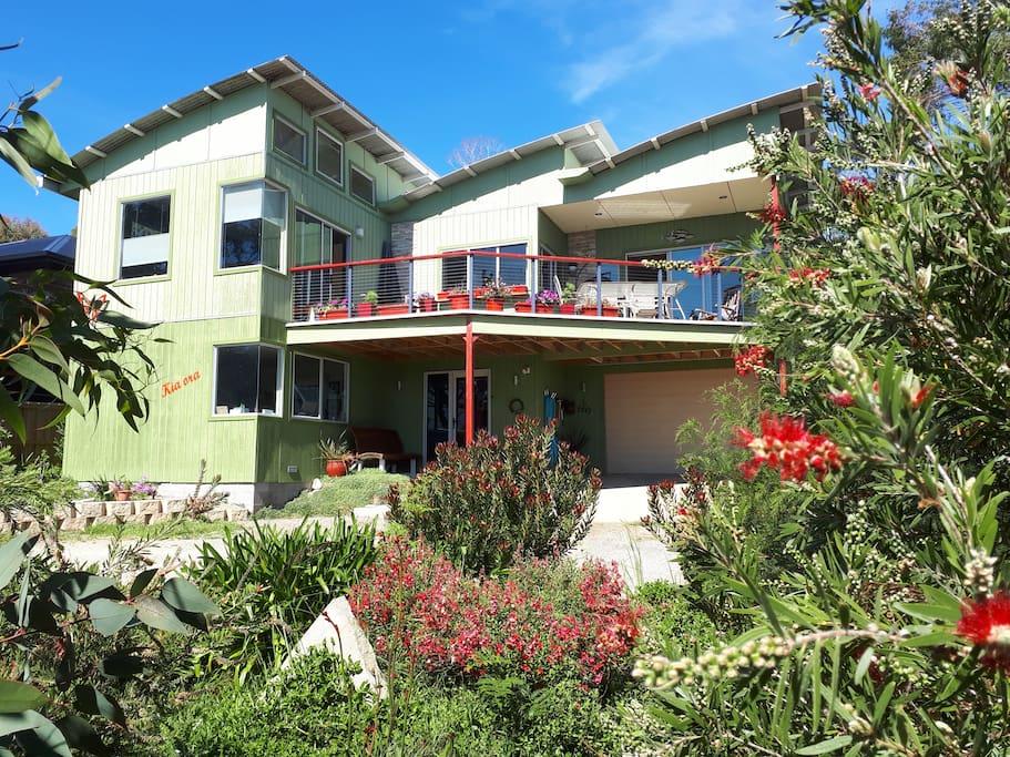 Kia Ora house at Spring Beach