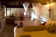 Top floor bedroom area