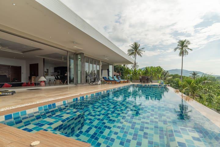 Villa Victoire 3BR-Private Pool&Jacuzzi SeaView