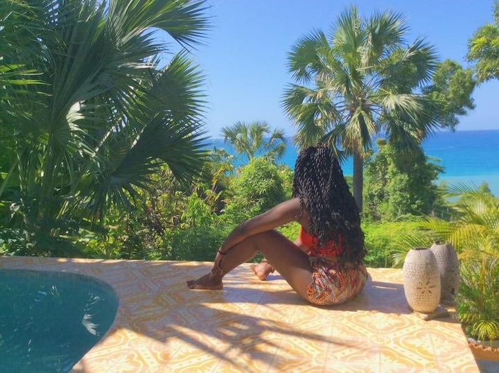 Chic Chateau's Garden Room Jacmel