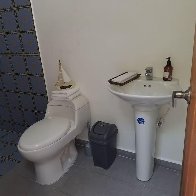 Baño social