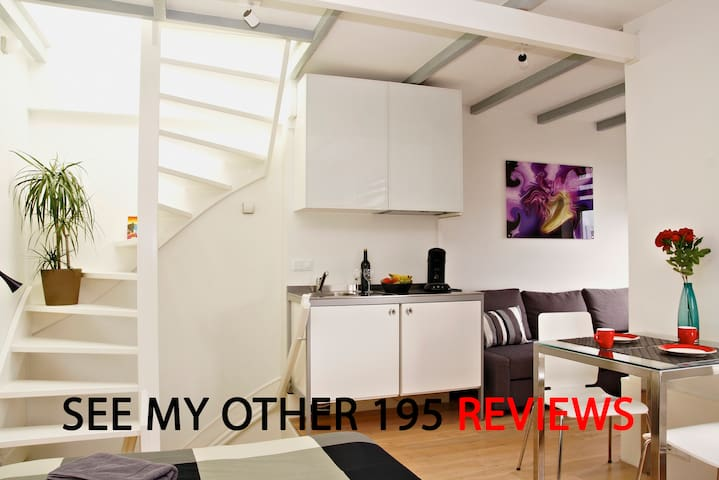 MODERN  Apartment  CITY CENTRE see 195 reviews - Amsterdam - Apartament