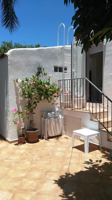 Your private sunny terrace