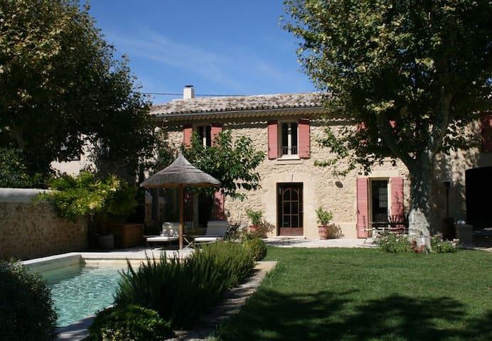 Mas de village provençal avec piscine - Pélissanne - Haus