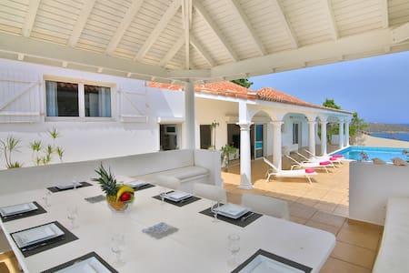 Villa Zephirine St-Martin ,5 chambres, piscine + voiture location offerte - Cole Bay - Villa