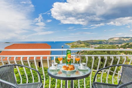 Nany- Two Bedroom Apartment with Balcony &Sea View