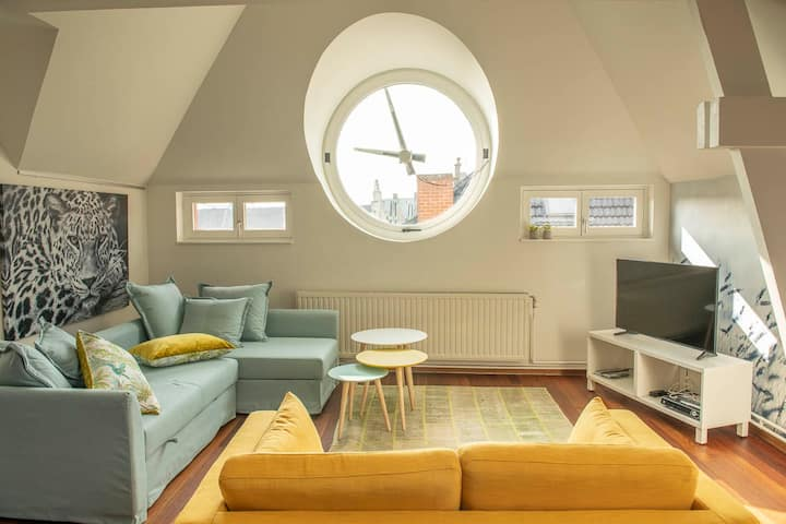 Lux Apt in Historic City Centre of Ghent