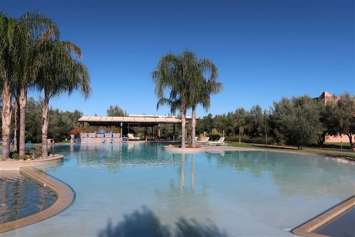 Appartement pour 4p avec piscine à Marrakech