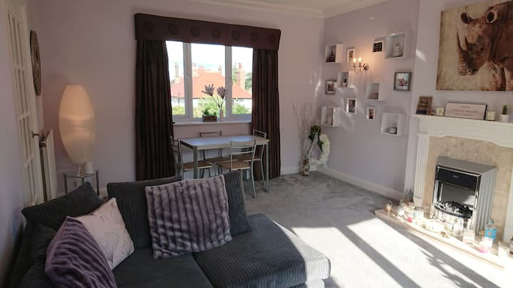 Spacious 2 bedroom Harrogate flat UCI World Champs