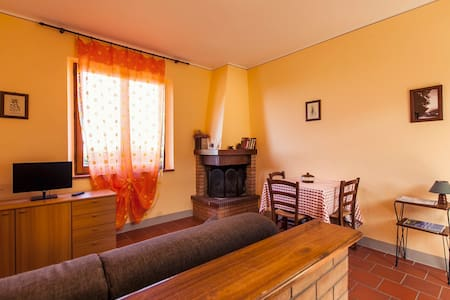 romantic apartment with swimming-pool and barbecue - Montepulciano