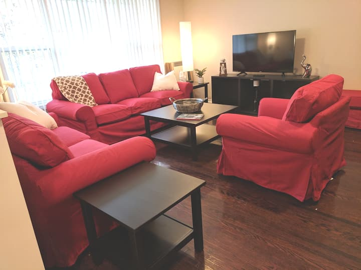 Beautiful New Family-Size Home, Large Bright Rooms
