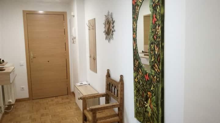 Apartamento espacioso y en un gran entorno natural