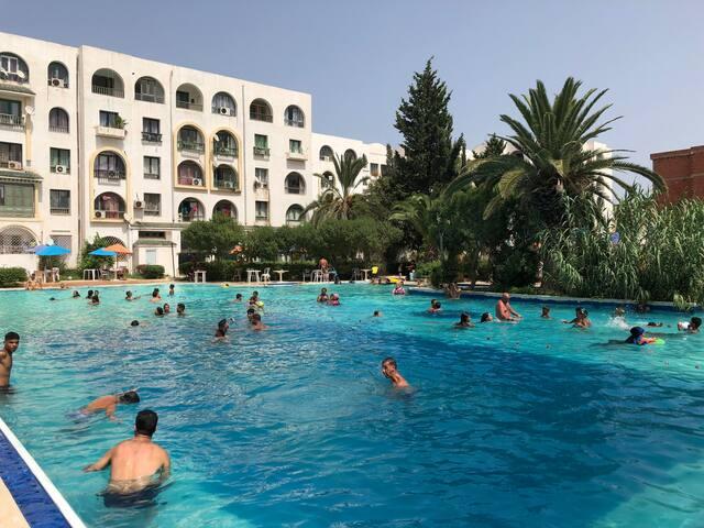 Appartement résidence hôtelière a 200m de la plage