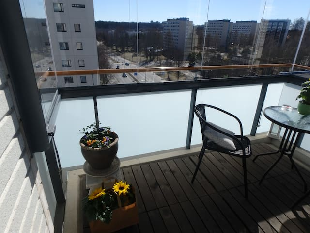 Nice, new aparment + Sauna in Tampere!(2 bedrooms)