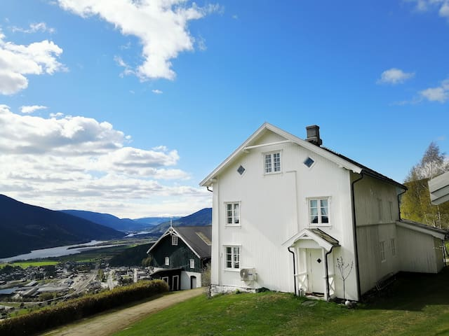 Traditional Norwegian Farmhouse With Amazing View