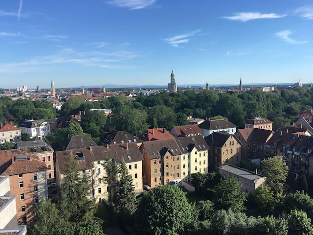 Über den Dächern Braunschweigs