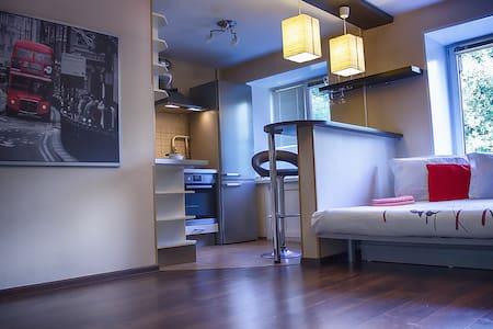 Стильная квартира-студия в центре города - Nizhnij Novgorod - Appartement