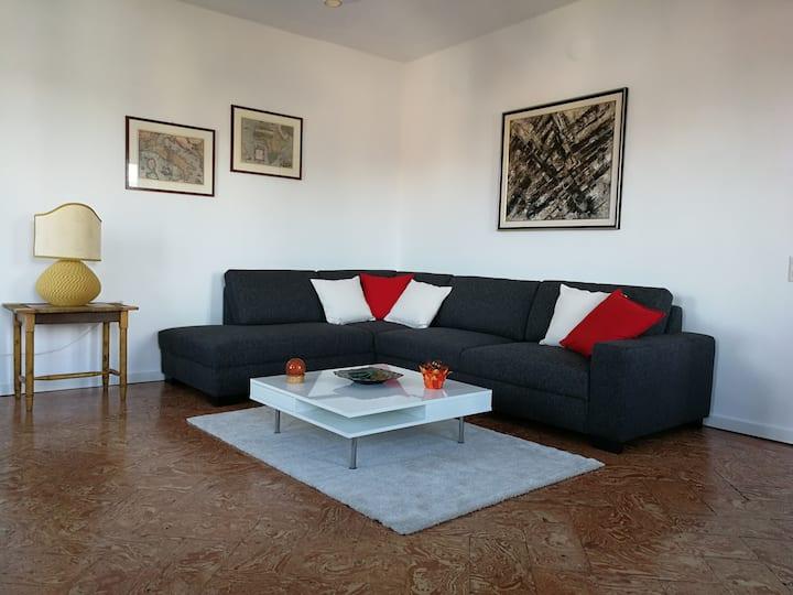 Spacious and bright apartment in Montagnola