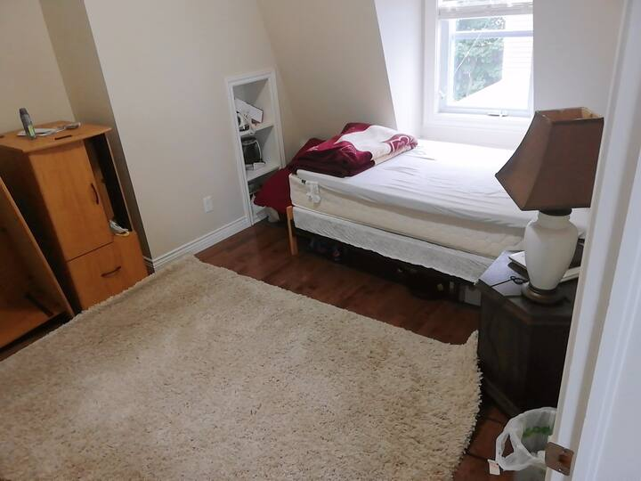 Furnished room in two bedroom female apartment