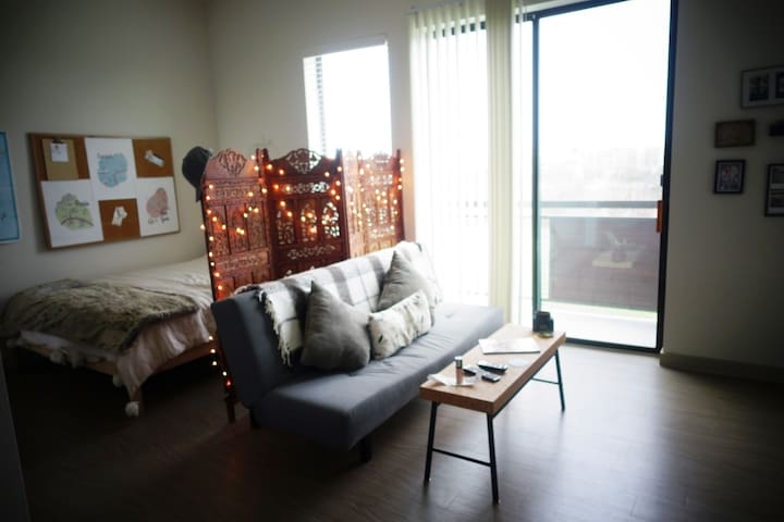 Hip/Chic studio With a Downtown View - Austin - Apartment
