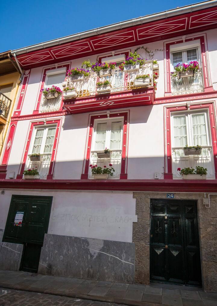 La casa roja de Saioa