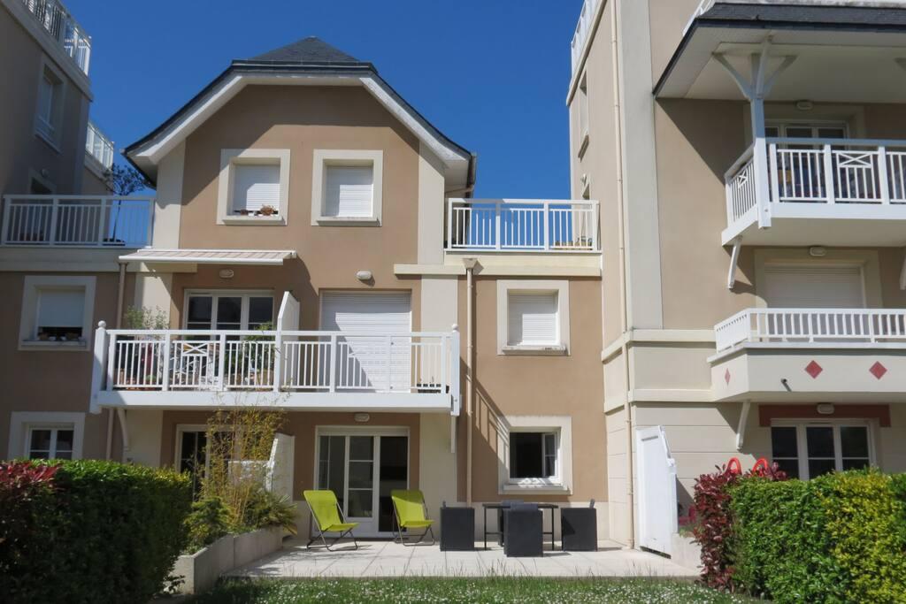 Appartement en rez de chaussée - Terrasse - Jardin