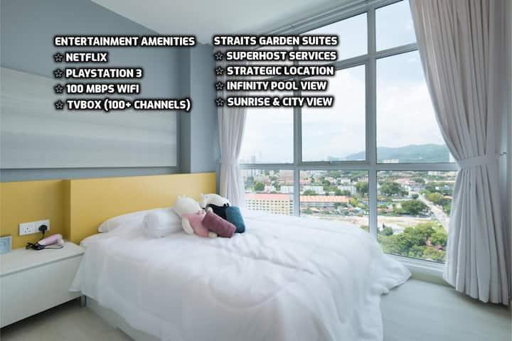 ★情侣休闲★现代舒适套房 | 睡2~4人