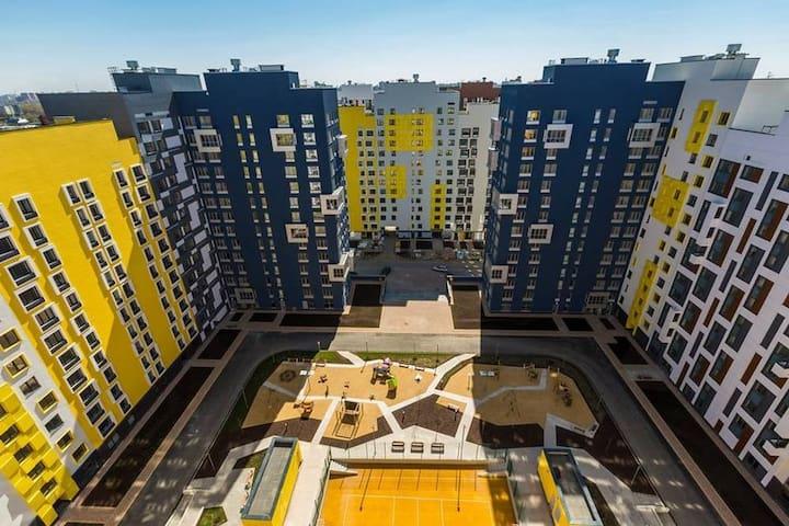 """Квартира в ЖК """"Микрогород в лесу"""" - Moskva - Apartamento"""