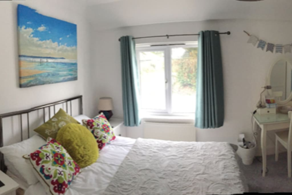 Newly decorated, new carpet and furniture in ensuite bedroom