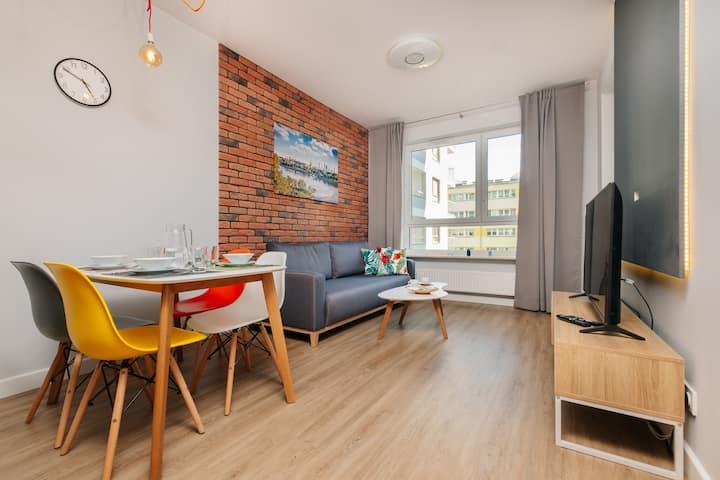 Stare Bielany 2-Bedroom Apartment