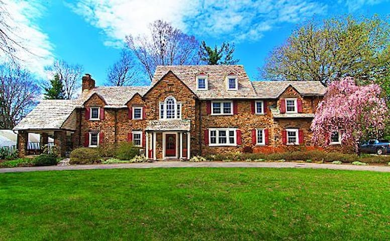 Stately Main Line Home BR#5 - Wynnewood
