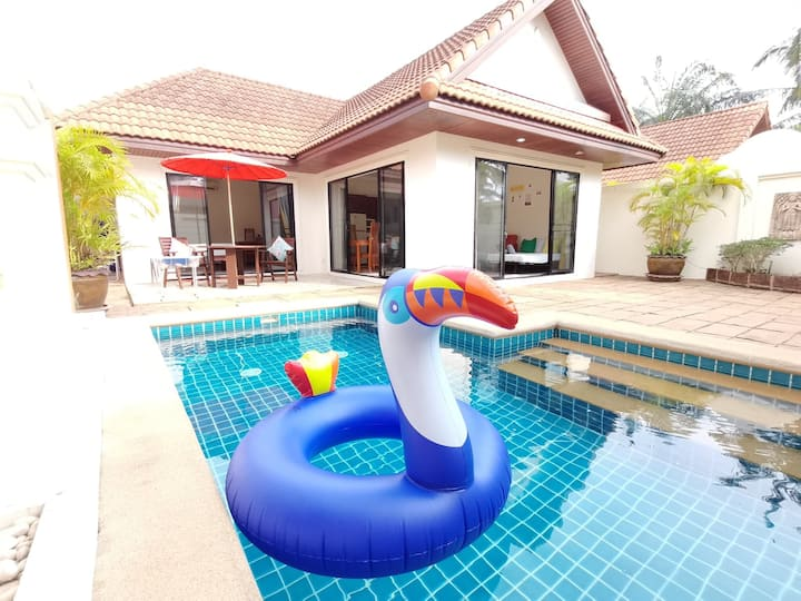 AnB Poolvilla 1BR close Jomtien Beach for 2-4pax