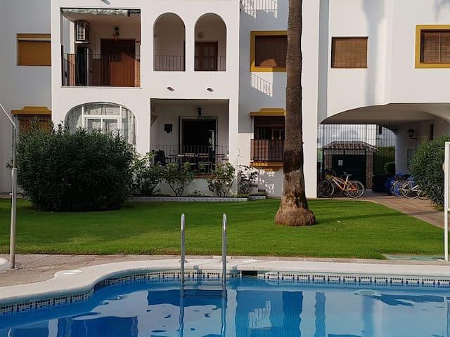 Precioso apartamento con piscina - Santiago de la Ribera - Vakantiewoning