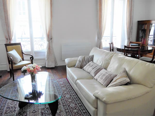 Charming apartment close to Eiffel Tower - Paryż - Apartament
