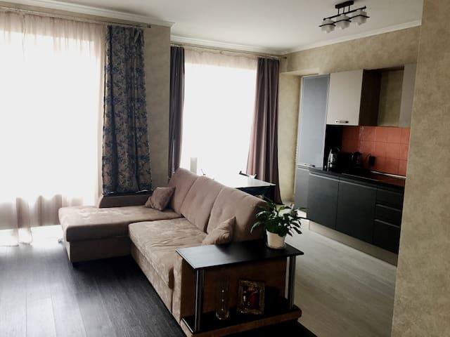 3-комнатная квартира с евроремонтом - Кудрово - Flat