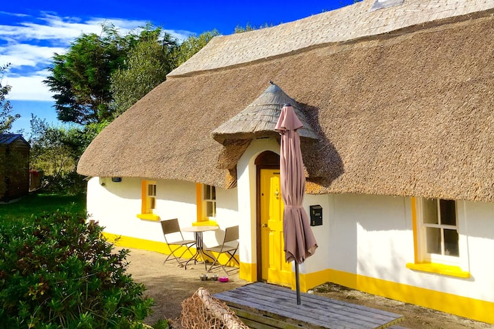 The Dunes Thatched Cottage --70 steps to the beach
