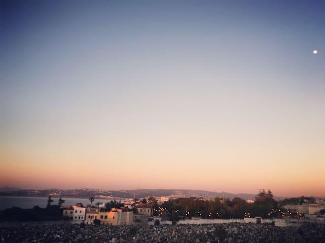 Maison avec vue, l'entre deux mers Tanger