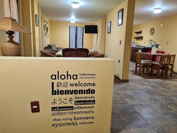Marluver House. Casa con cochera centro Zacatecas
