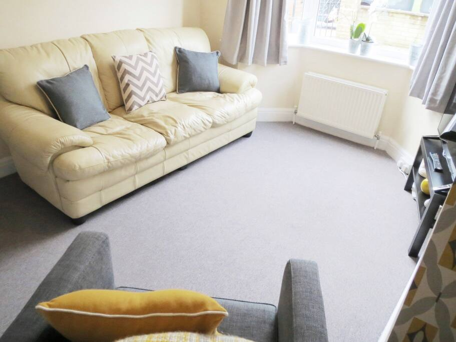 Sofa to sit back and relax in