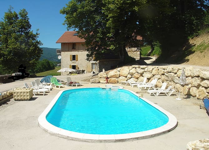 GITE LES SOURCES 5 CH - 10/20Places - Saint-Julien-en-Vercors - Apartment