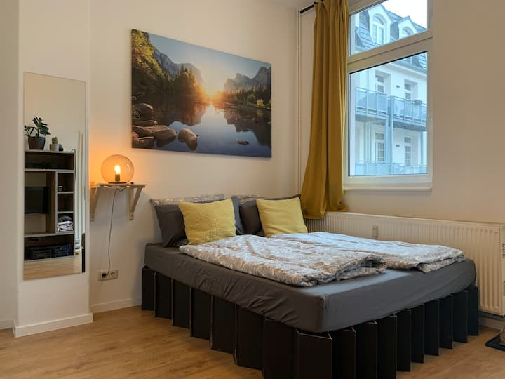 20 sqm Urban Central City Apartment in Dresden 🏙