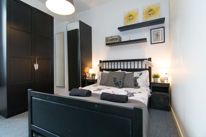 Cosy flat sleep's up to 4 - Glasgow - Appartamento