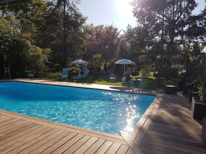 Villa contemporaine proche Bordeaux